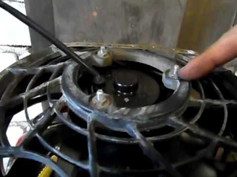 Tagaz Road Partner Замена вентилятора  охлаждения (аналог)
