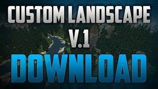 Custom Minecraft Landscapes V.1 (Download) ~ Ruined Castle