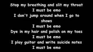 The Emo Song Lyrics