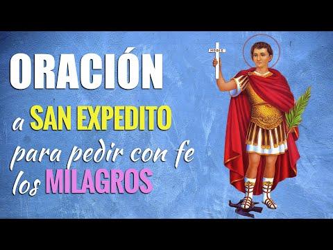 🙏 Oración para PEDIR LOS MILAGROS de San Expedito 🙇♂️