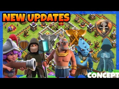 Clash of clans NEW HERO,NEW TROOP,NEW LEAGUES ALL NEW CONCEPT (HINDI)SAM1735