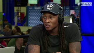 Texans wide receiver DeAndre Hopkins joins Doug Gottlieb to discuss the Patriots' game plan.