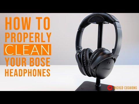 HOW TO - Replace Bose Headphones Ear Pads Cushions QC35... | Doovi