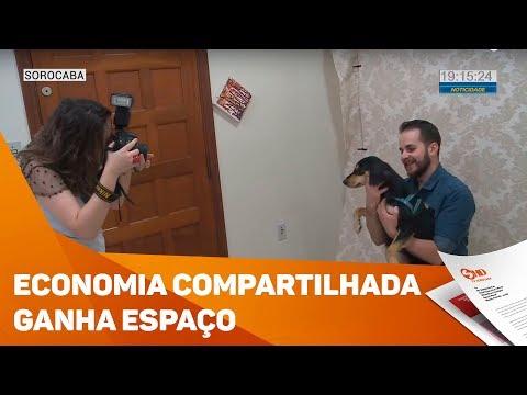Economia compartilhada ganha espaço - TV SOROCABA/SBT