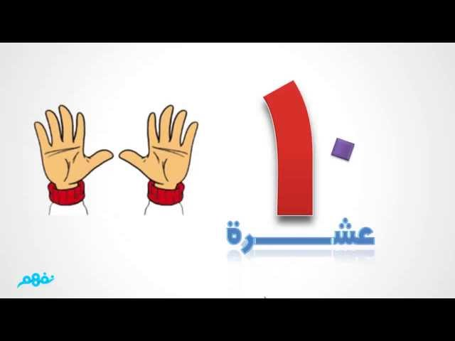 العدد 10  -  رياضيات  -  للصف الأول الإبتدائي - موقع نفهم - موقع نفهم