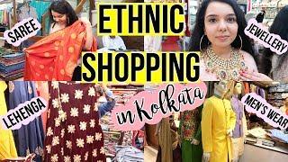 Ethnic/Bridal Shopping in Kolkata Part 1   Vardaan Market Tour   Wedding Shopping Part 1