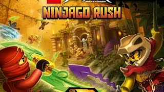 Ninjago Rush - New Lego Action Platform Game - Gameplay Video
