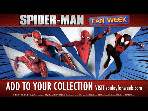 SPIDER-MAN FAN WEEK - Complete Your Collection Today with Spider-Man Movies & TV on Sale!