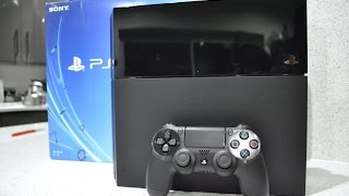 Sony Playstation 4 Unboxing PS4 Black 500GB