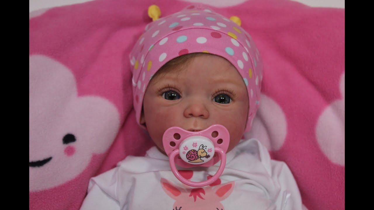 Распаковка куклы реборн Livia Beautiful Reborn Baby Doll
