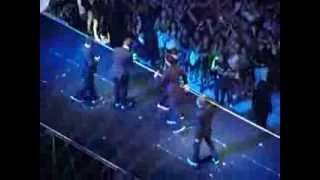 Justin Timberlake reunion with N' Sync @ the MTV VMA 2013, Barclays...