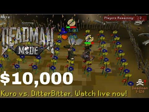DitterBitter: Winning $10,000 [Deadman Mode Season 10 Tournament]