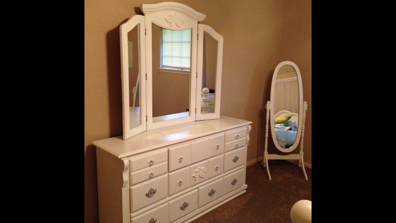 mirrored with laminate dresser and black table before makeover top diy metal handle plus painted mirror furniture drawer ideas color white after bedroom square