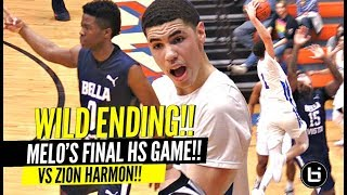 LaMelo Ball CHAMPIONSHIP Game vs Zion Harmon GETS WILD! ANKLE BREAKER & INSANE POSTER DUNK!