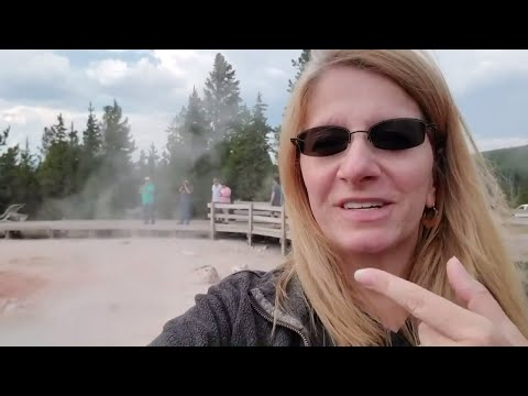 Letting Off Steam At YELLOWSTONE NATIONAL PARK