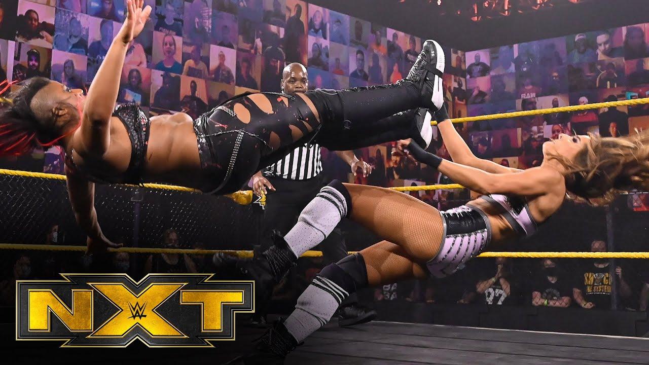 Ember Moon & Rhea Ripley vs. Dakota Kai & Raquel González: WWE NXT, Oct. 7, 2020 - YouTube