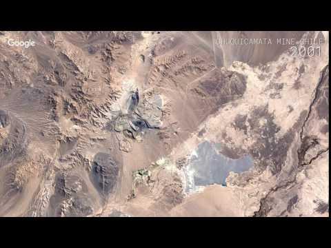 Google Timelapse: Chuquicamata Mine, Chile