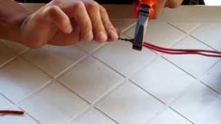 01- Como fazer uma emenda rabo de rato em fio rígido.