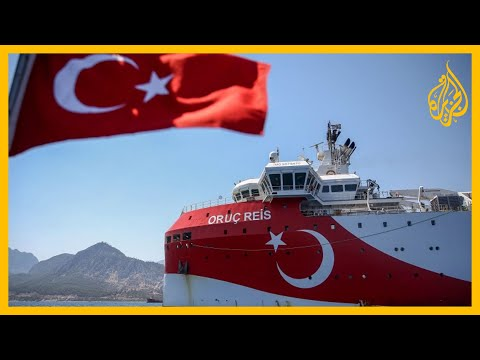 نذر الحرب شرق المتوسط.. سفينة تنقيب تركية ترافقها قوات بحرية واليونان تتأهب وتدعو لاجتماع أوروبي  - نشر قبل 30 دقيقة