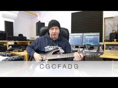 A new way to tune your 7 String Guitar - CGCFADG