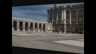 Palacio Real de Madrid .Испанский дворец в Мадриде(Palacio Real de Madrid Испания Дворец построен на холме, на берегу реки Мансанарес, где расположен парк Кампо дель..., 2012-08-08T07:34:09.000Z)