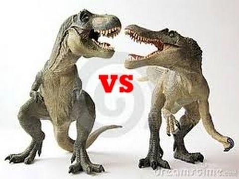 T-Rex vs Spinosaurus