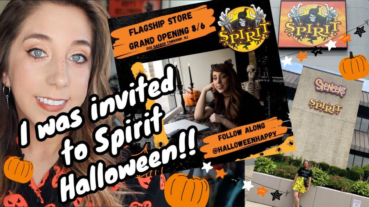 2020 SPIRIT HALLOWEEN FLAGSHIP WALK THROUGH TOUR!