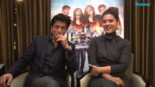 In conversation with Dilwale, Shahrukh Khan & Kajol