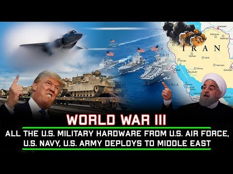 Tension: All The U.S. Military Hardware From Air Force, Navy, Army Deploys To M1ddle 3ast
