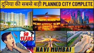 Navi Mumbai   Cidco navi mumbai smart city    Pushpak nagar   Navi mumbai international airport