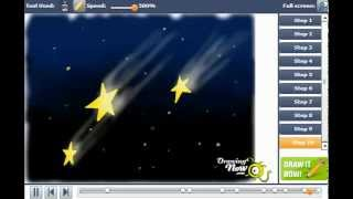 How to draw Shooting Stars