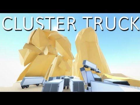 AWESOMEST GAME EVER | ClusterTruck Alpha 0.1.5.1 #1
