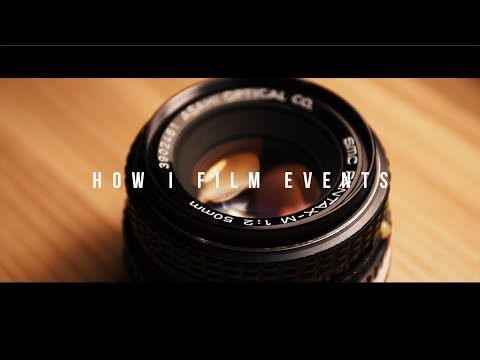 HOW TO FILM A LIVE CONCERT