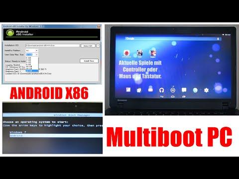Android x86 | ÜBER 30GB Speicher | Zweitsystem für PC | [Deutsch] [Full-HD]