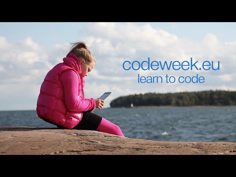 Learn How To Code With EU Code Week [English]