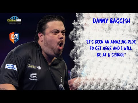 """Danny Baggish: """"It's been an amazing ride to get here and I will be at Q School"""""""