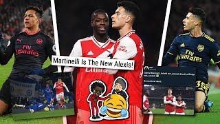 Is Gabriel Martinelli The NEW Alexis Sanchez?!