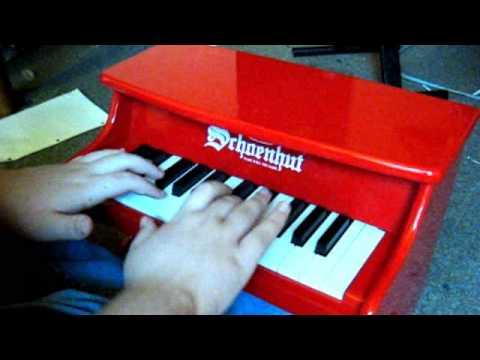 Mario theme (Schoenhut My First Piano II toy piano)
