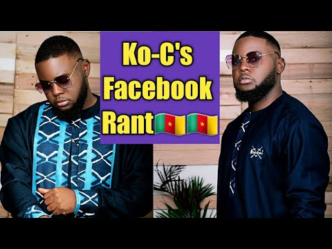 Cameroonian artist Ko-C Blasts Cameroonians and exposes disunity in the music industry. It's a rant!