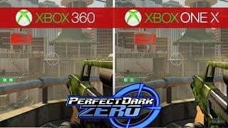 Perfect Dark Zero Comparison - Xbox 360 vs. Xbox One X