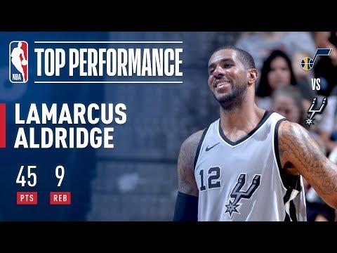 Download Youtube: LaMarcus Aldridge Scores CAREER HIGH 45
