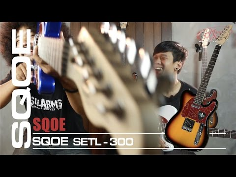 SQOE SETL-300 | กีต้าร์ไฟฟ้า [ MA รีวิว ]