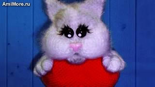 Амигуруми: схема Кот Любимчик. Игрушки вязаные крючком - Free crochet patterns.