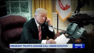 President Donald Trump urged the new leader of Ukraine to investigate the son of former Vice President Joe Biden.