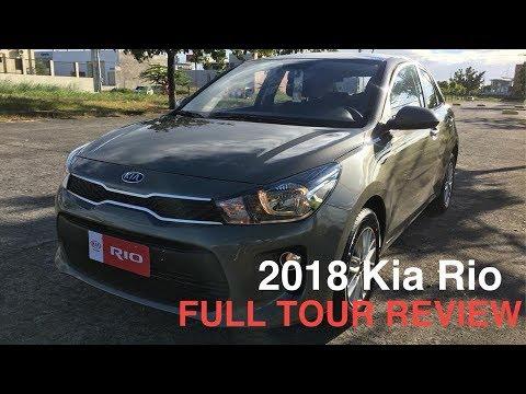 2018 KIA RIO 1.4L 4SPD FULL TOUR REVIEW