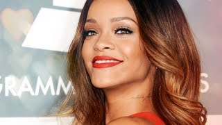 rihanna grammys 2013 inspired makeup tutorial