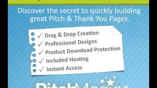 Pitch Magic Lead Capture Page Generator