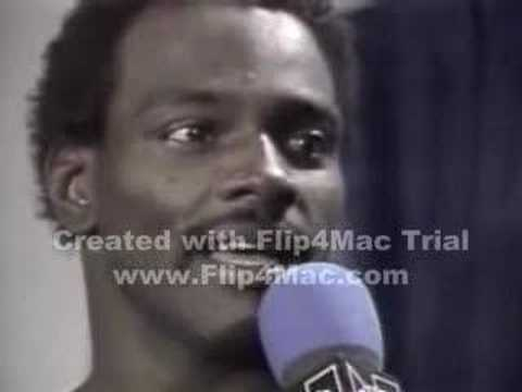 Walter Payton Interview after superbowl XX