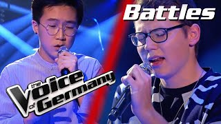 Topic & A7S - Breaking Me (Max Lenz vs. Sion Jung) | The Voice of Germany | Battle