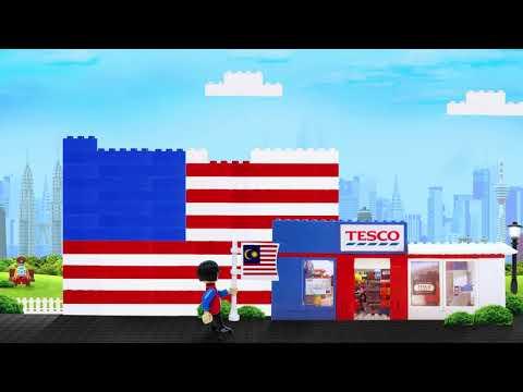 Tesco Malaysia: One Brick at a Time